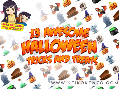 13 AWESOME HALLOWEEN TRICKS AND TREATS!