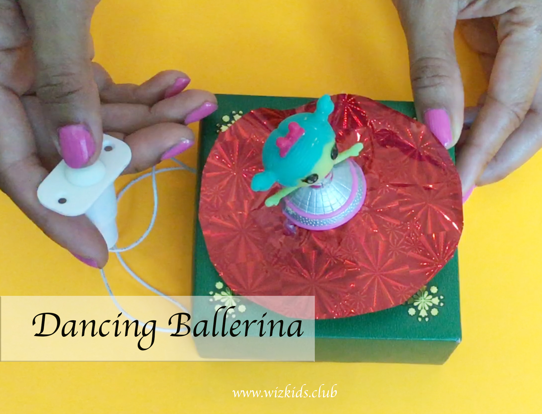 Make your Dancing Doll using Motor and Circuit Design
