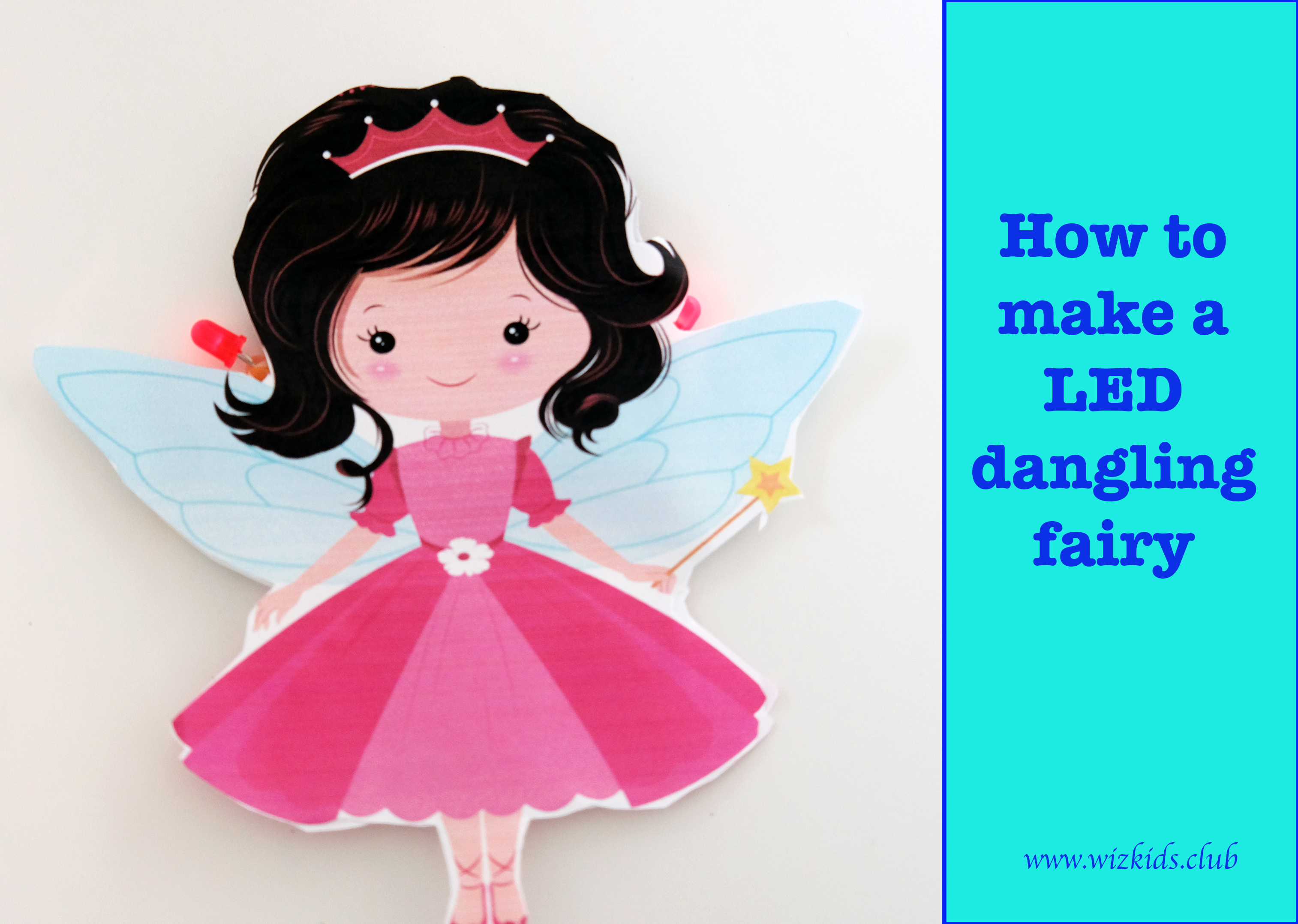 How to make your LED Dangling Fairy