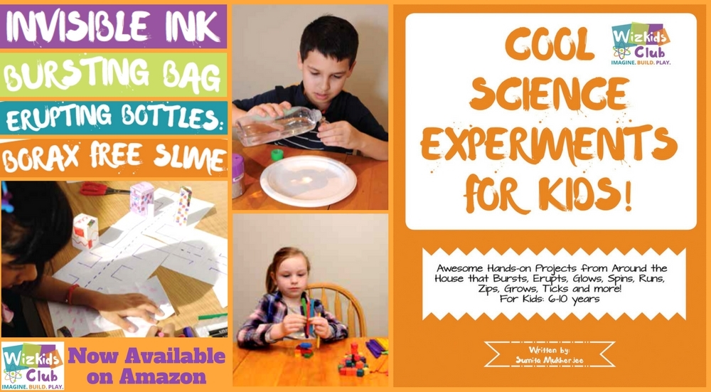 Cool Science Experiments for Kids Book, Plus Amazon Gift card!