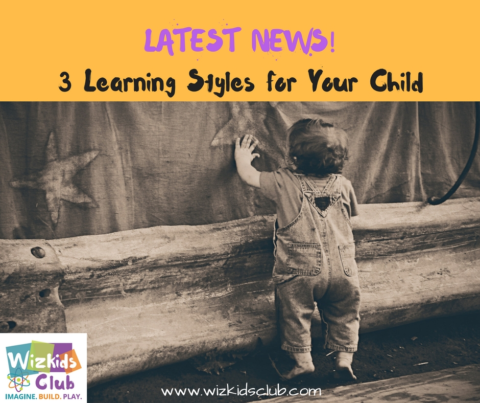 3 Learning Styles for Kids!(Must know for Every Parent)