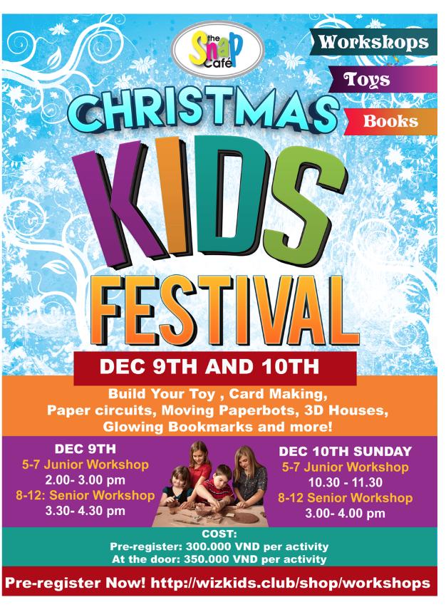 CHRISTMAS KIDS FESTIVAL