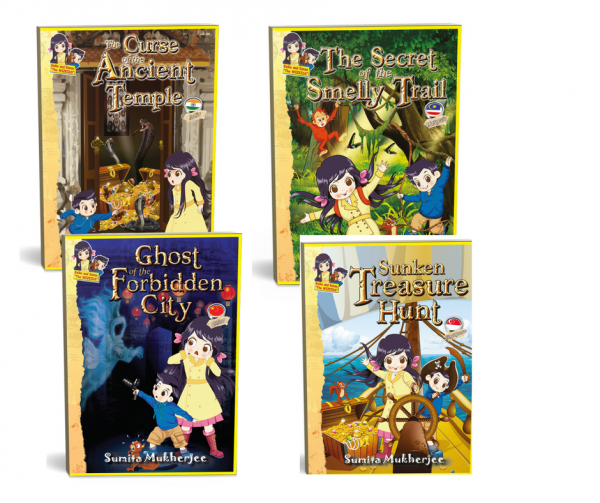 ADVENTURE AND MYSTERY BOOKS