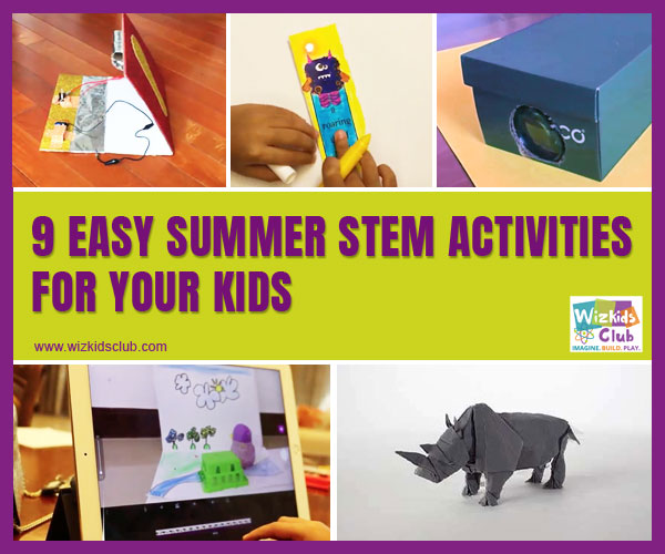 9 Best & Easy Summer STEM Activities For Your Kids
