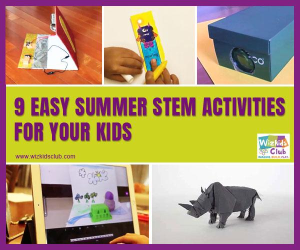 9 Best & Easy Summer STEM Activities For Your Kids