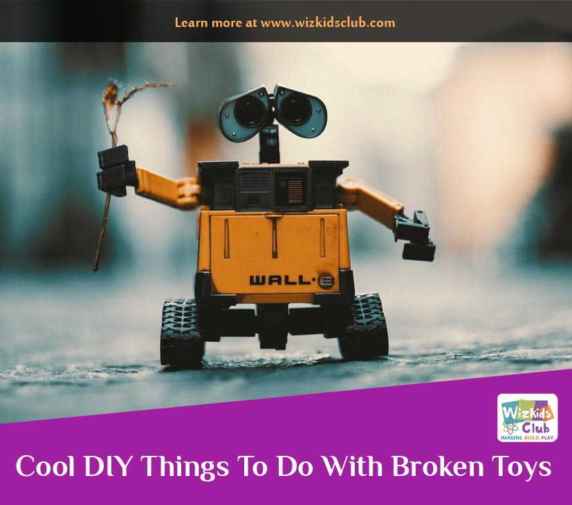 Cool DIY Things To Do With Broken Toys and Gadgets