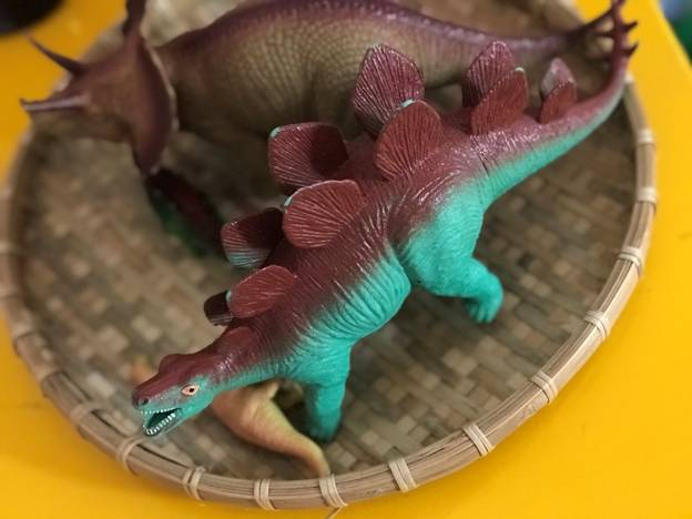 Step by step guide to make dinosaur fossil