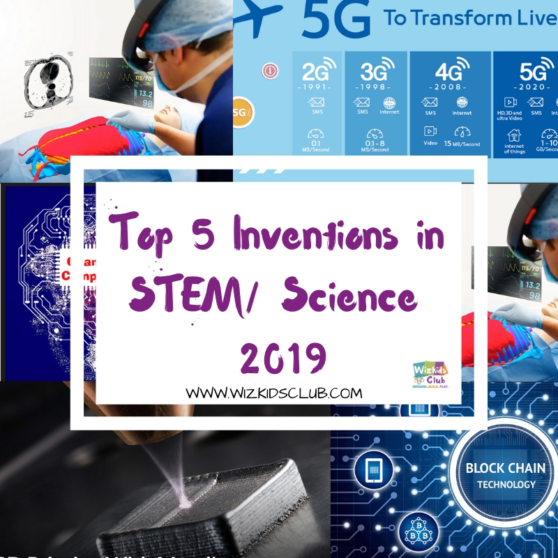 Top 5 inventions in year 2019 to look out for (in STEM/ Science experiences)