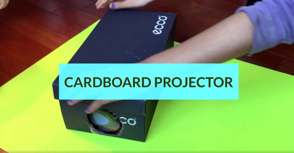 Cardboard Projector