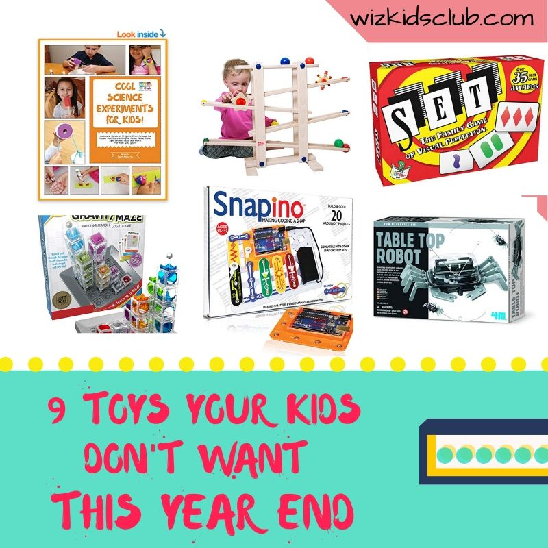 9 Toys Your Kids Don't Want this Year End