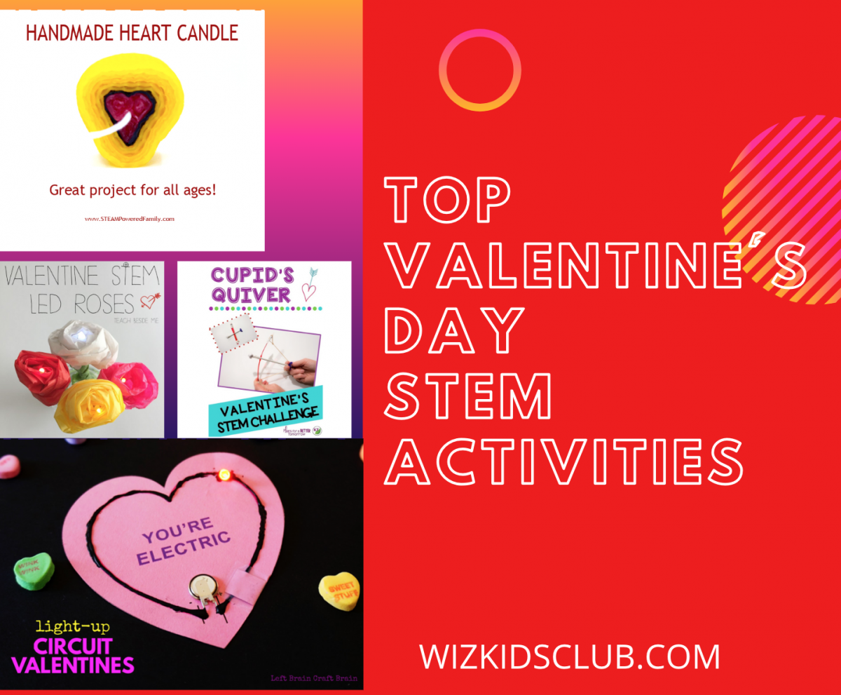 Top 5 Valentine's Day S.T.E.M Activities for Kids