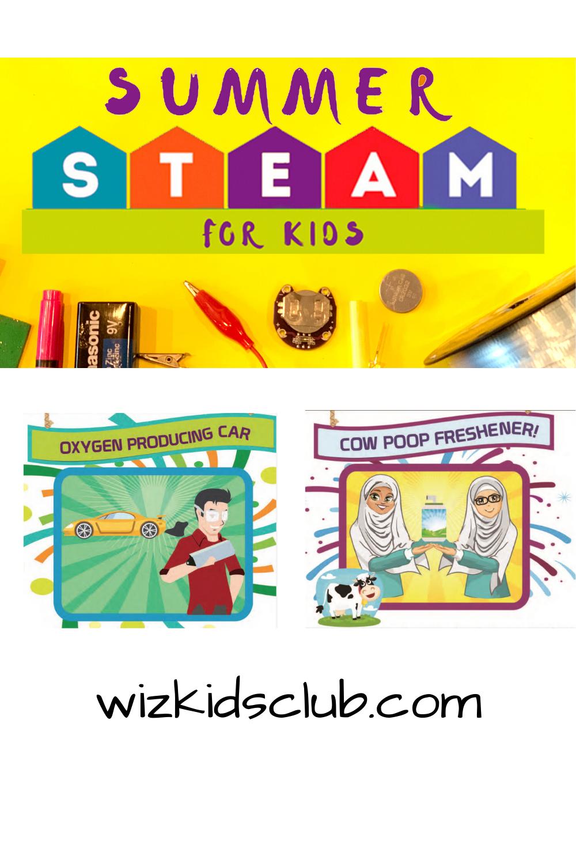 Summer STEAM for Kids E book
