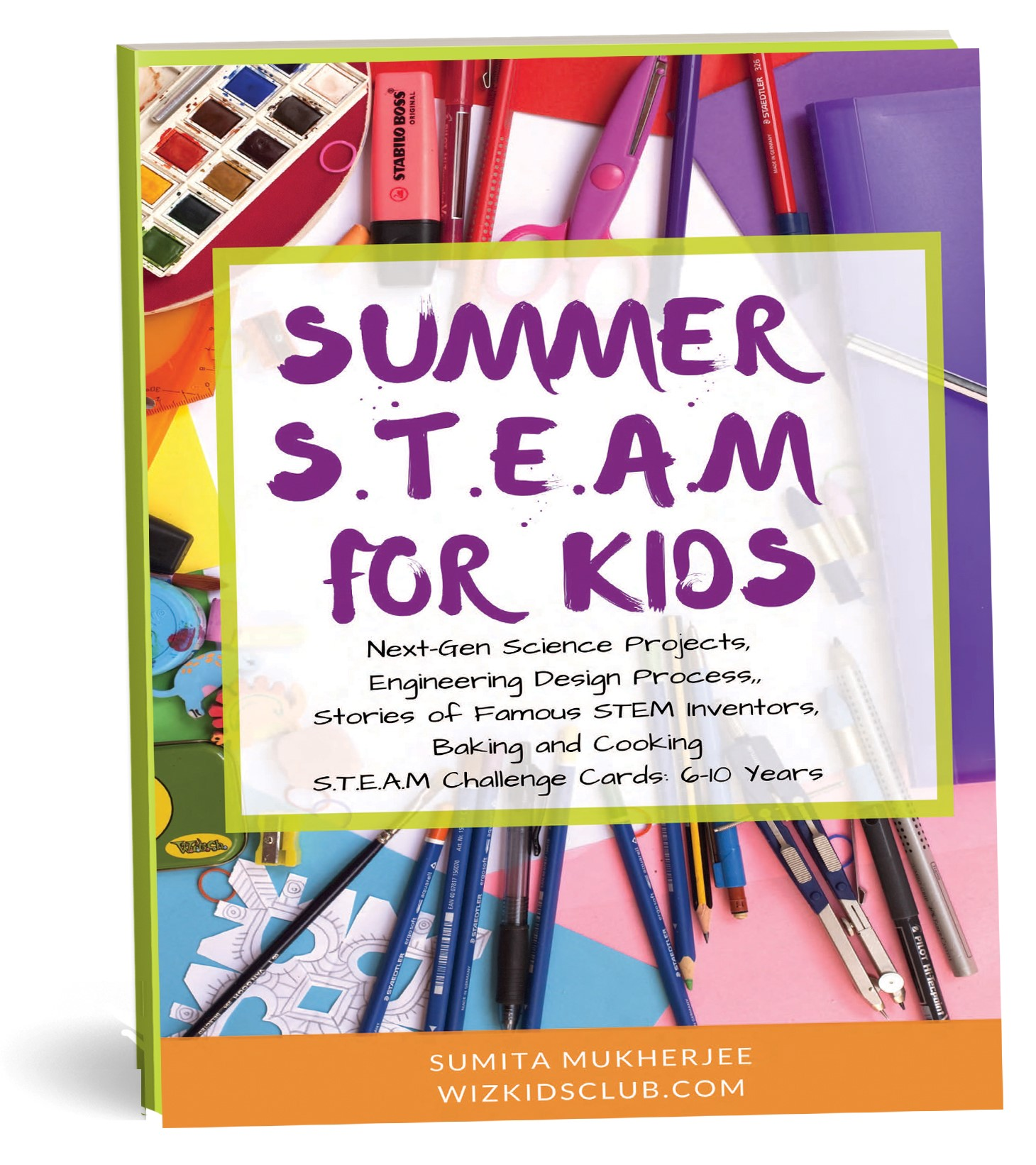 summer steam for kids 6 to 10 years