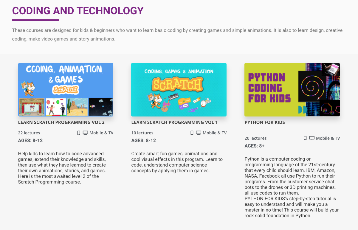 Coding for kids - Computer and technology
