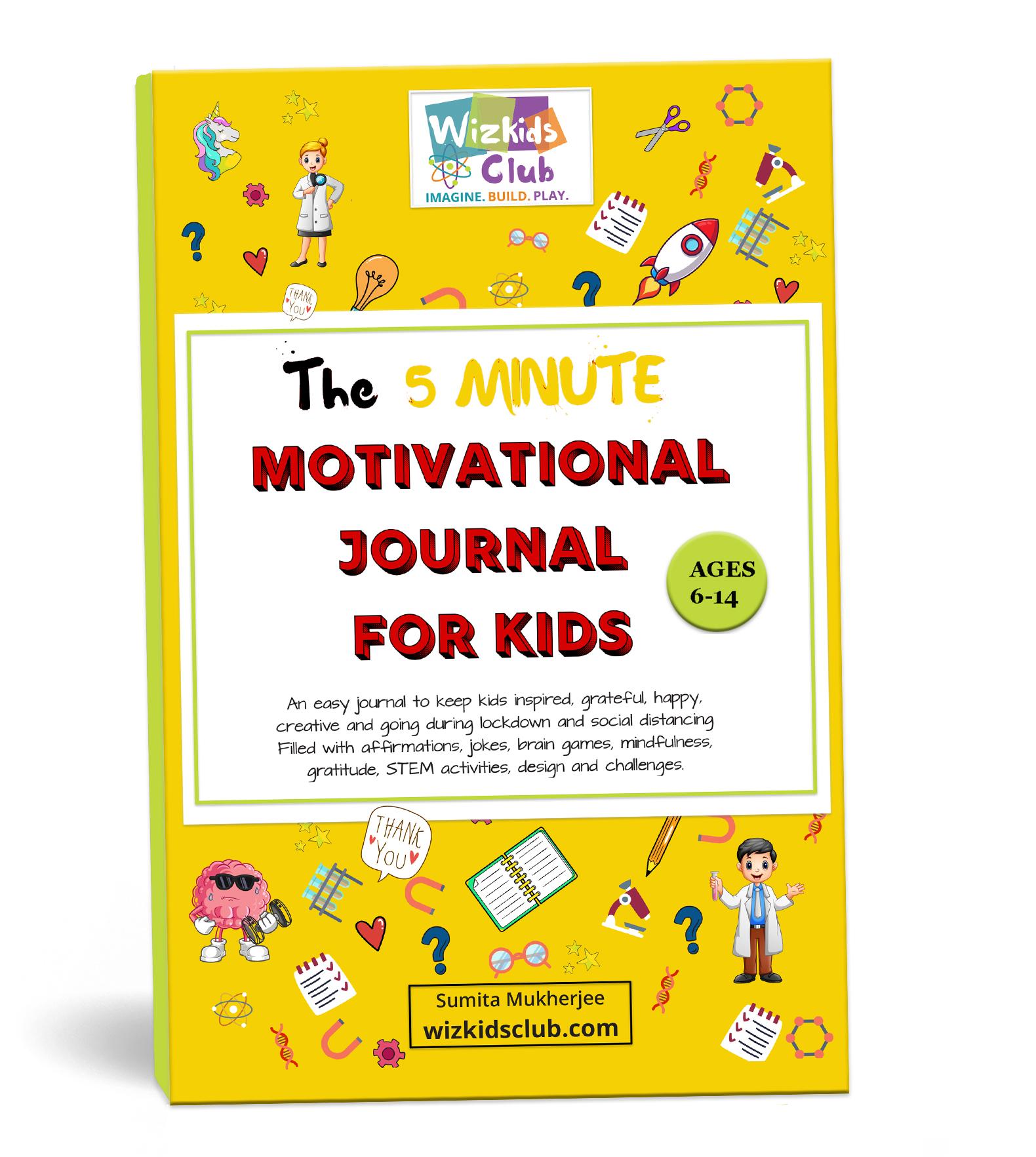 5 Minute Motivational Journals For kids