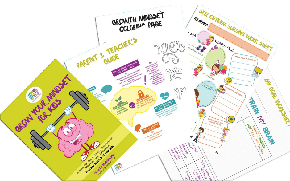 GROW YOUR MINDSET FOR KIDSGuide to Quick 5-DAY Practice